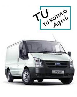 Rótulos Para Ford Transit 2014