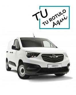 Rótulos Para Opel Combo 2018