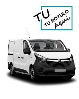 Rótulos Para Opel Vivaro 2014