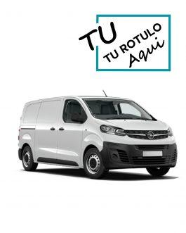 Rótulos Para Opel Vivaro 2019